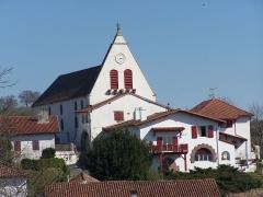 Eglise Saint-Jean Baptiste -  église de villefranque