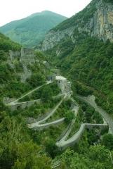 Ensemble fortifié du Portalet (également sur commune de Borce) - English: Fort du Portalet, Bearn, Aspe valley, Pyrenees.
