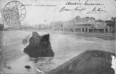 Casino municipal - English: The Casino municipal of Biarritz (Pyrénées-Atlantiques, France) circa 1905.