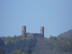 Ruines du château Haut-Andlau -  château d'Andlau