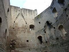 Ruines du château de Spesbourg - Français:   Château de Spesbourg