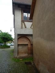 Immeuble (ancienne salle capitulaire) - Français:   Salle capitulaire d\'Andlau