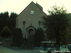 Eglise protestante de Fouday -  Eglise de Fouday (Bas-Rhin, Alsace, France).
