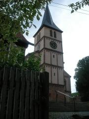 Eglise protestante - Église de Barr (Bas-Rhin, France).