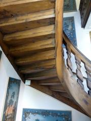 Ancien Hôtel Marco - English:   Stair soffit.