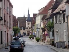 Hôtel de ville -  Alsace, Bas-Rhin, Benfeld, Rue du Général-de-Gaulle.