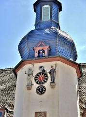 Hôtel de ville - Français:   Jacquemart de la mairie de Benfeld. Bas-Rhin