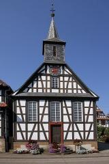 Eglise protestante de Kuhlendorf - Deutsch: Fachwerkkirche in Kuhlendorf.