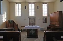 Eglise protestante de Kuhlendorf - Deutsch: Fachwerkkirche in Kuhlendorf, Innenausstattung.