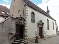 Couvent de Bischenberg (église catholique Notre-Dame) -  Alsace, Bas-Rhin, Bischoffsheim, Couvent de Bischenberg (PA00084622, IA00075456).  Chapelle Notre-Dame-des Sept-Douleurs.