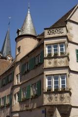 Hôtel de ville - English: la place de l'Hôtel de Ville; Boersch; Alsace, Bas-Rhin, France; ref: PM_050039_F_Boersch;;; Photographer: Paul M.R. Maeyaert; www.pmrmaeyaert.eu, © Paul M.R. Maeyaert; pmrmaeyaert@gmail.com; Cultural heritage; Europe/France/Boersch; LoCloud selectie