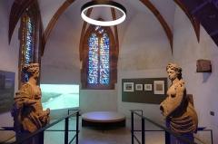 Ancienne chapelle castrale Saint-Georges et halle aux blés -  Alsace, Bas-Rhin, Bouxwiller, Musée du Pays de Hanau, Intérieur de la chapelle St-Georges au rez-de-chaussée