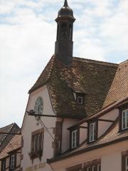 Hôtel de ville - Français:   Chancellerie de Bouxwiller (67). France. Clocheton.