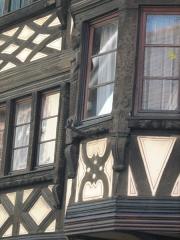 Maison - English: Maison Pfluger, 29 Grand-Rue, Bouxwiller (67), France