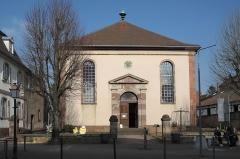 Ancienne synagogue - Deutsch: Synagoge in Bouxwiller im Département Bas-Rhin (Region Alsace-Champagne-Ardenne-Lorraine/Frankreich)
