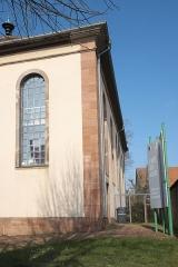 Ancienne synagogue - Deutsch: Synagoge in Bouxwiller im Département Bas-Rhin (Region Alsace-Champagne-Ardenne-Lorraine/Frankreich), heute Musée judéo-alsacien de Bouxwiller