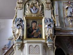 Eglise catholique Saint-Georges - Alsace, Bas-Rhin, Église Saint-Georges de Châtenois (PA00084665, IA00124434).  Retable