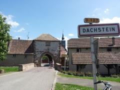 Anciens remparts (tour de fortifications) - Deutsch: Dachstein bei Straßburg