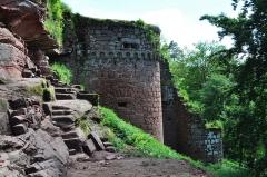 Ruines du château de Schoeneck -  Chateau de Schoeneck