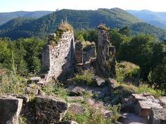 Ruines du château de Schoeneck -  P1080554