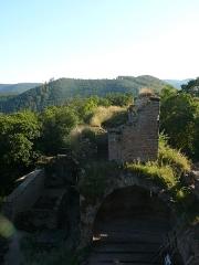 Ruines du château de Schoeneck -  P1080530