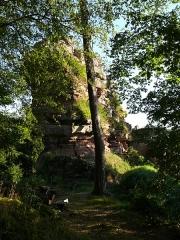 Ruines du château de Schoeneck -  P1080595