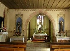 Chapelle Saint-Jean-Baptiste - Le chœur de la chapelle Saint Notre-Dame