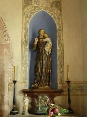 Chapelle Saint-Jean-Baptiste - Statue de Saint Antoine de Padoue située dans la chapelle Saint Jean