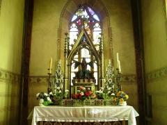 Chapelle Saint-Jean-Baptiste - L'autel de la chapelle Saint Jean-Baptiste