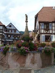 Fontaine dite Stockbrunnen -  Voyage Suisse et Alsace-446