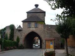 Vestiges des anciennes fortifications -  Dambach-la-Ville