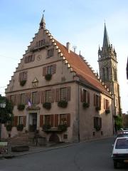 Hôtel de ville -  Place de l'Hotel de Ville (Dambach-la-Ville)