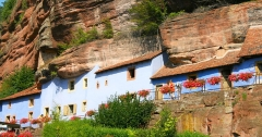 Maisons troglodytiques de Graufthal : les éléments bâtis -  Graufthal - maisons troglodytes