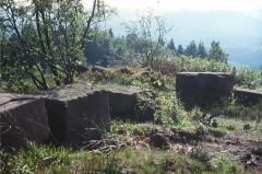 Sommet et musée du Donon - Deutsch: Römischer Tempel auf dem Donon