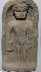 Sommet et musée du Donon - Deutsch: Straßburg ( Elsass ). Archäologisches Museum: Römisches Relief des Gottes Merkur ( 3.Jhdt ) vom Donon.