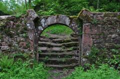 Ruines du château du Grand-Geroldseck -  Porte