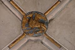 Eglise Saint-Georges - Alsace, Bas-Rhin, Église Saint-Georges de Haguenau (PA00084724, IA00061901). Clé de voûte