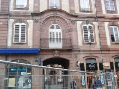 Ancien Hôtel du bailli Hoffmann -  CIMG7872