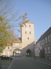 Porte des Chevaliers -  Haguenau (Bas-Rhin)