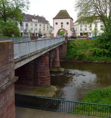 Porte de Wissembourg - Deutsch: Moder bei Haguenau