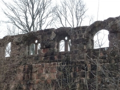 Vestiges du château de Landsberg - Français:   Château du Landsberg (Alsace)