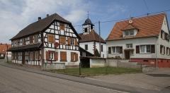 Eglise protestante de Leiterswiller - Deutsch: Protestantische Kirche in Leiterswiller.