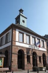 Hôtel de ville - Deutsch: Rathaus in Ingwiller im Département Bas-Rhin (Region Alsace-Champagne-Ardenne-Lorraine/Frankreich)