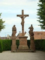 Calvaire - Deutsch: Missionskreuz in Lauterbourg