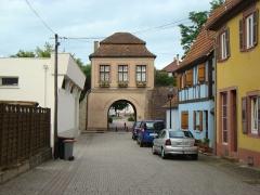 Porte de Landau - Deutsch: Landauer Tor in Lauterbourg