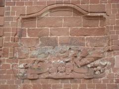 Porte de Landau - Deutsch: Relief am Landauer Tor in Lauterbourg