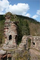 Château du Froensbourg ou Frundsberg - Deutsch: Ruine der Frönsburg in Lembach, Elsass