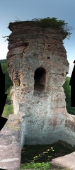 Château du Froensbourg ou Frundsberg -  DSC_2667 - DSC_2677_fused