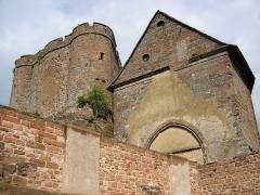 Forteresse -  vue du château de Lichtenberg