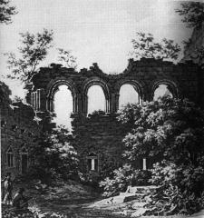 Ruines du château Guirbaden -